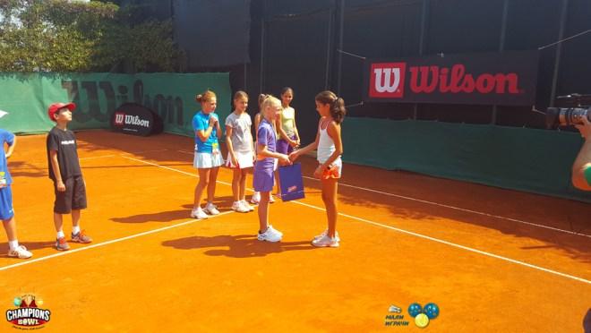 Klara Vaja, 9. teniske nade, Champions Bowl 2016, Teniski klub Haron Beograd