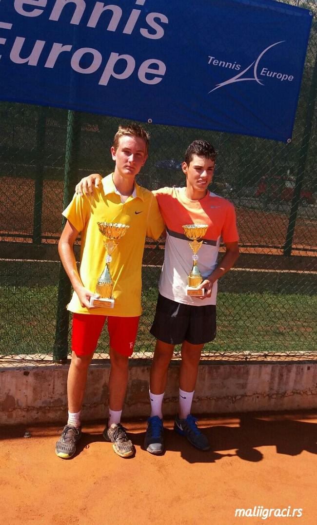 Kristian Juhas, Dušan Obradović, Eminent Podgorica Open 2016, Tennis Europe Junior Tour, Teniski klub Eminent Podgorica
