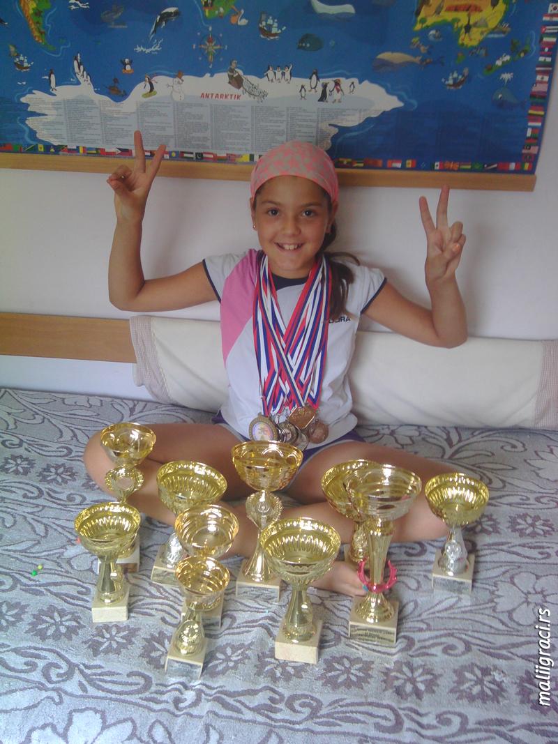 Teodora Milić, Moja Babolat teniska priča