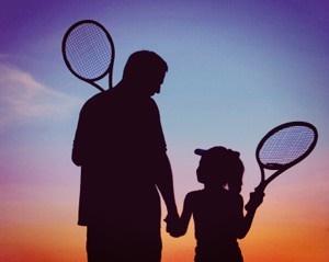 Marija Mišić, Teniski blog Na Svom Terenu, sajt o dečjem tenisu Mali igrači, Andrija Gerić