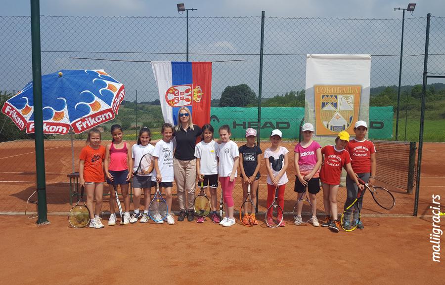 Državno školsko prvenstvo u tenisu, Teniski klub Lapčević Sokobanja, sudija Sonja Orlović