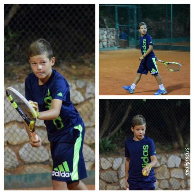 Mali teniser Luka Ilić, Teniski klub Spartak Subotica