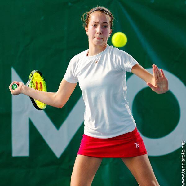Lola Radivojević, Rakovnik Checz Republic, Tennis Europe Winter Cups by HEAD U14