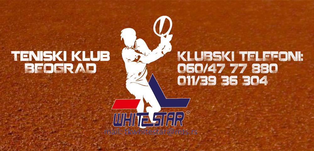 Teniski klub White Star Beograd, novi logotip