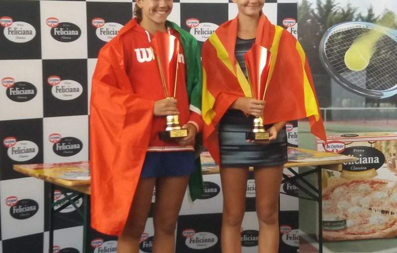 Aleksandra Simeva, Matilde Jorge, Dr Oetker Junior Trophy 2018 U14 Bukurešt Rumunija, Tennis Europe Junior Tour