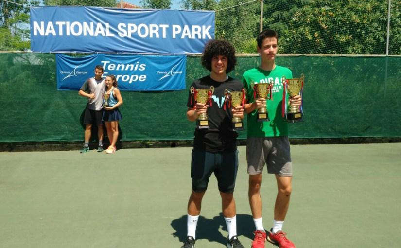 Petar Teodorović, Milo Gazivoda, Tirana Open U16, Tennis Europe Junior Tour, Tirana, Albania, National Sport Park