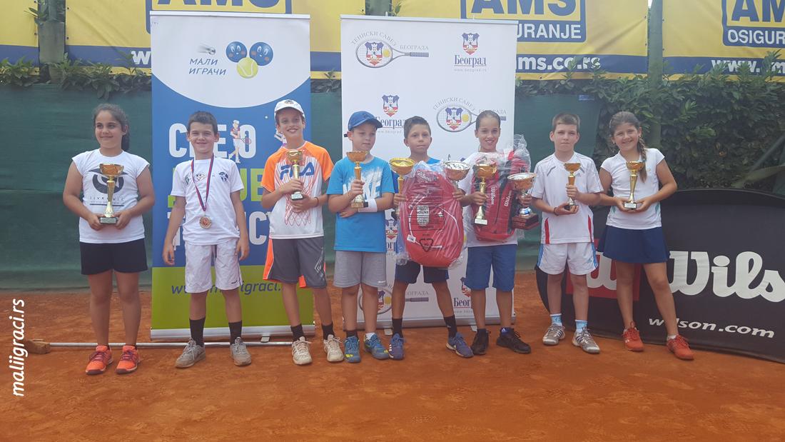 11. Teniske Nade do 10 godina 2018, Trofej Beograda, Teniski klub Haron Beograd, Champions Bowl by Wilson