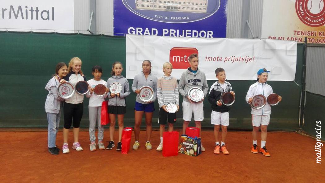 Milan Matović, Halel Ashoosh, Prijedor Open 2018 U12 Prijedor Bosna i Hercegovina, Teniski klub Dr Mladen Stojanović Prijedor, Tennis Europe Junior Tour