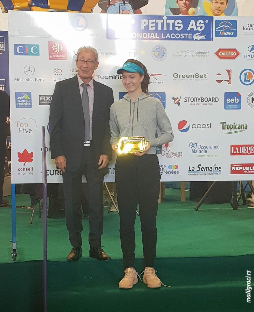 Lola Radivojević, Le Petits As, Les Petits As Tarbes 2019 Mondial Lacoste, Tarb, Tennis Europe European Tour