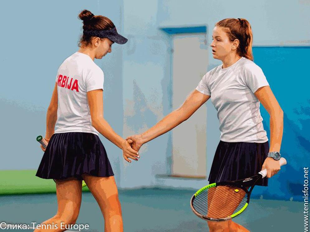 Lola Radivojević, Tijana Sretenović, Tennis Europe Winter Cups by HEAD U16 Plovdiv Bugarska