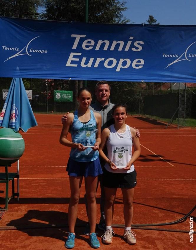 PECIN MEMORIJAL-ALEXANDER WASKE TENNIS-UNIVERSITY 2019, U16 Tennis Europe, TК Динамо Панчево, Србија, 13-21.4.19.