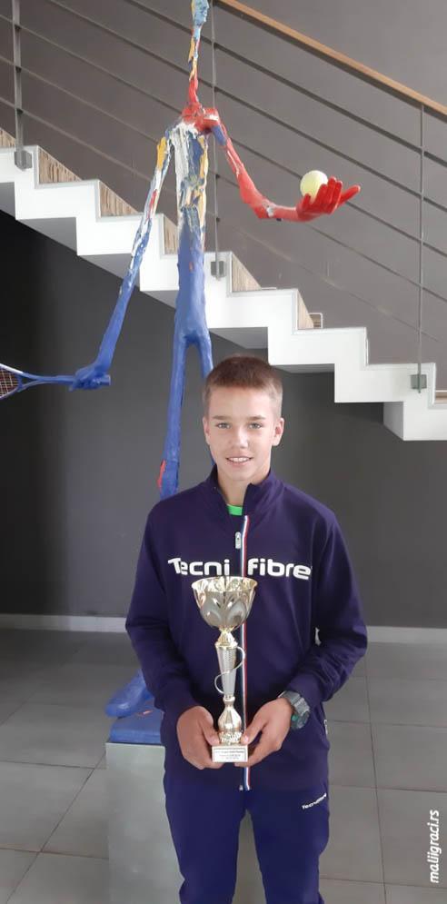 Zoran Ludoški, TEJT U14 Trnava Cup U14 2019 Slovačka, Tennis Europe Junior Tour
