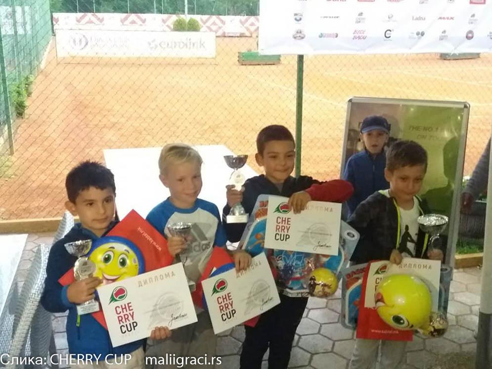 Viktor Višnić, Nikola Stefanović, Cherry Cup Skopje 2019, međunarodni dečji turnir u Skoplju Cherry Cup, Severna Makedonija, Dečiji svet tenisa, TK MTP Skoplje