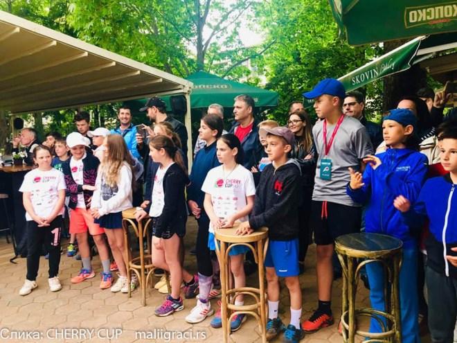 Cherry Cup Skopje 2019, međunarodni dečji turnir u Skoplju Cherry Cup, Severna Makedonija, Dečiji svet tenisa, TK MTP Skoplje