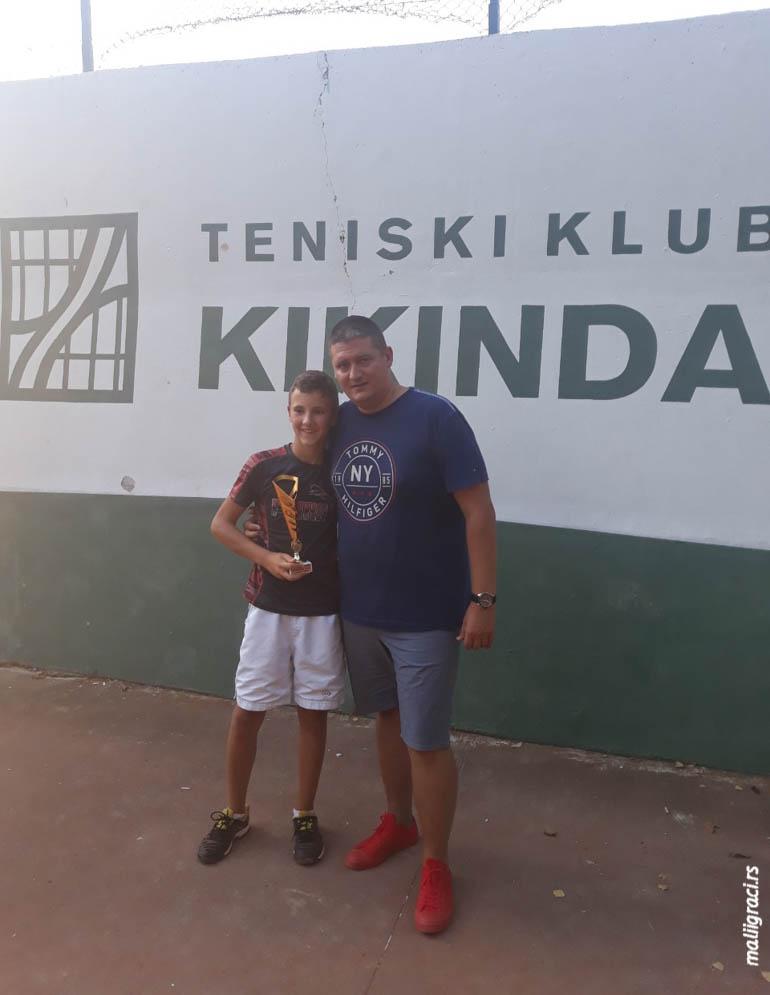 Aleksa Borbelj, Dejan Ćirić, Otvoreno prvenstvo Kikinde za dečake do 14 godina, Teniski klub Kikinda