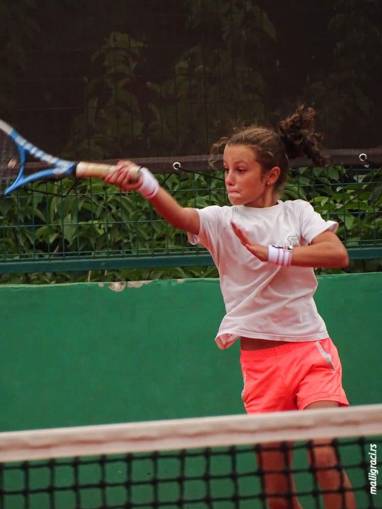 Dušica Popovski, MIŠIN MEMORIJAL 2019 U12, Teniska akademija Tipsarević Beograd, Tipsarević Tennis Academy, Tennis Europe Junior Tour
