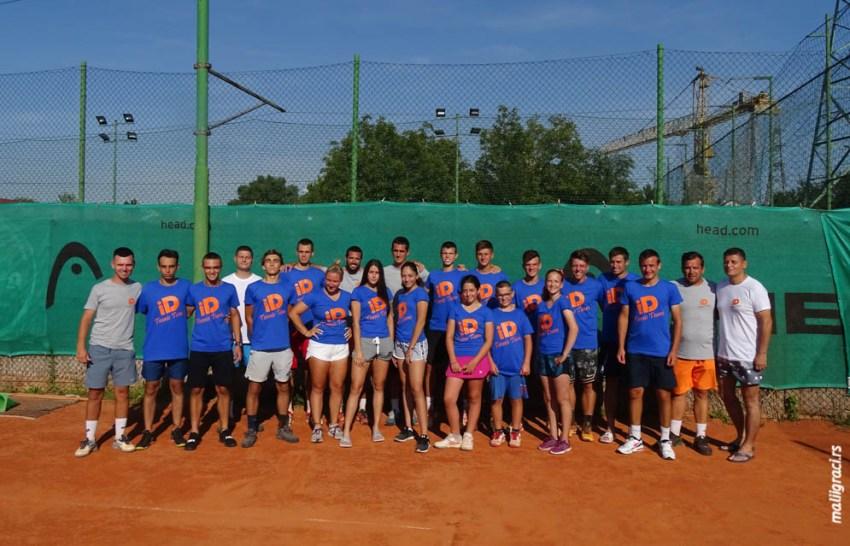 Прави тениски тим: ID Tennis Team