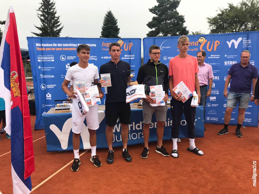 Marko Topo, Nemanja Malešević, Jugend Cup Rutesheim/Renningen ITF
