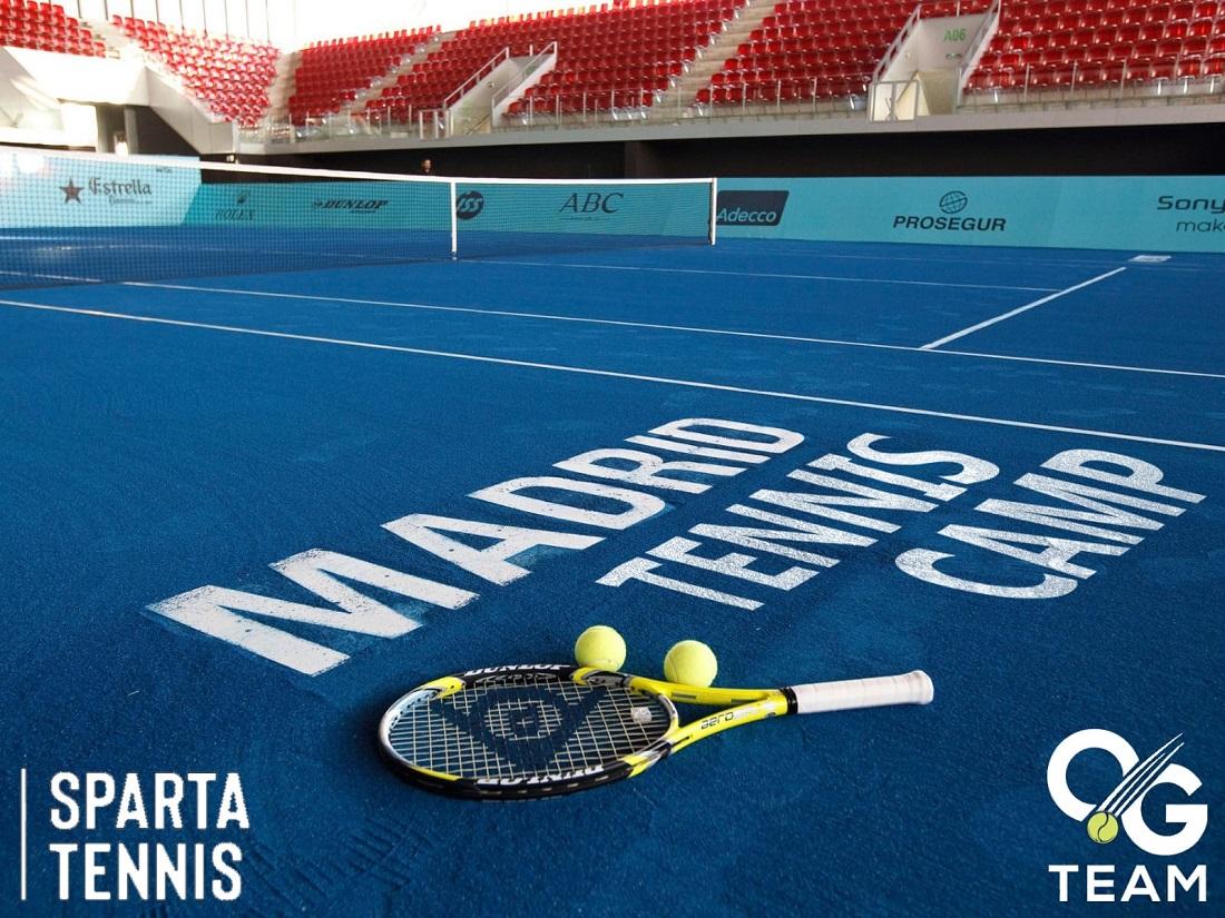 Sparta Tennis Camp Madrid 2019, Sparta Tennis Academy, Teniski kamp u Madridu