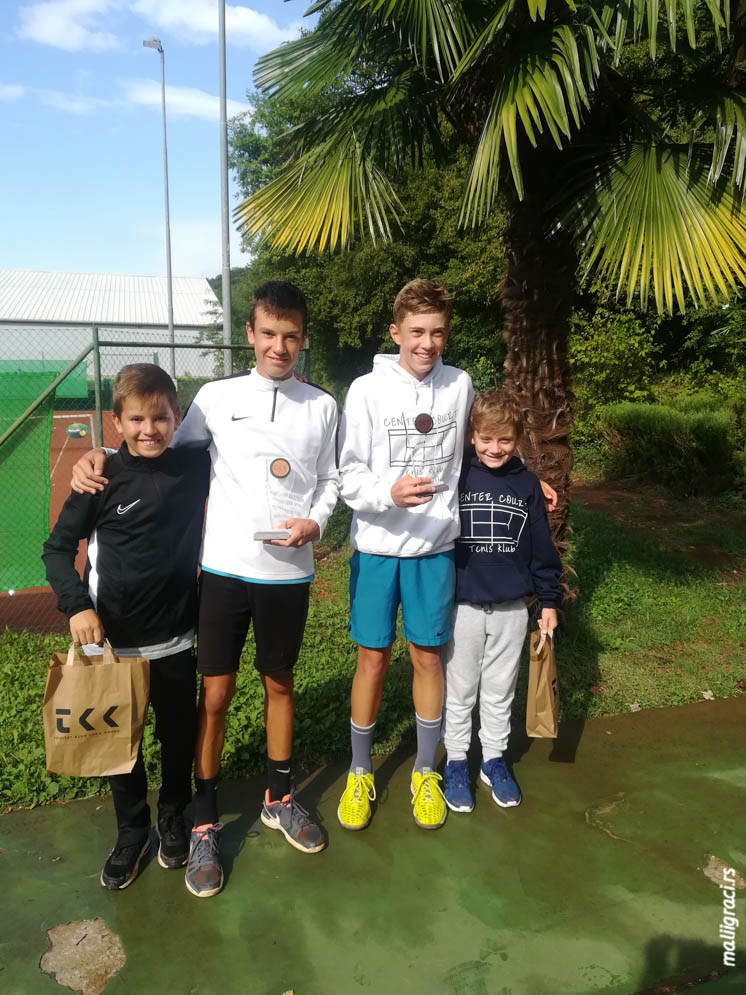Marko Mileticki, Marko Pozonec, 9. Intesa Sanpaolo Bank Junior Slovenia Open Under 14 International Junior Tennis Championships Under 14, Kopar Slovenija
