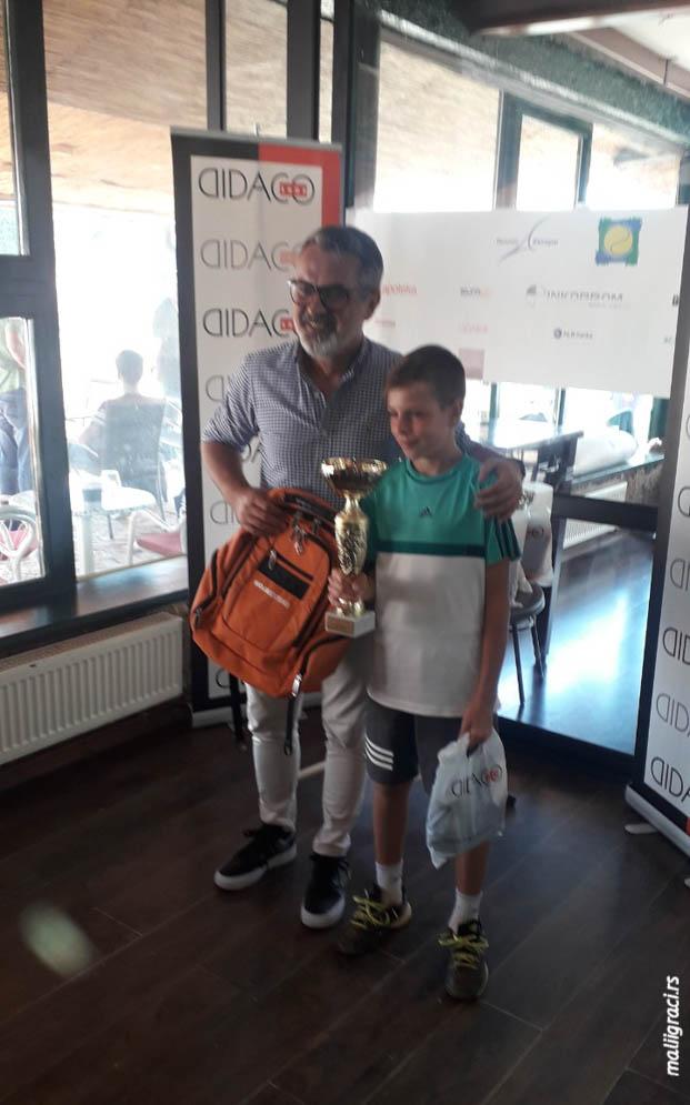 Marko Nešić, INKOPROM CUP 2019 U12 Banja Luka, Teniski klub Borac Banja Luka, Tennis Europe Junior Tour