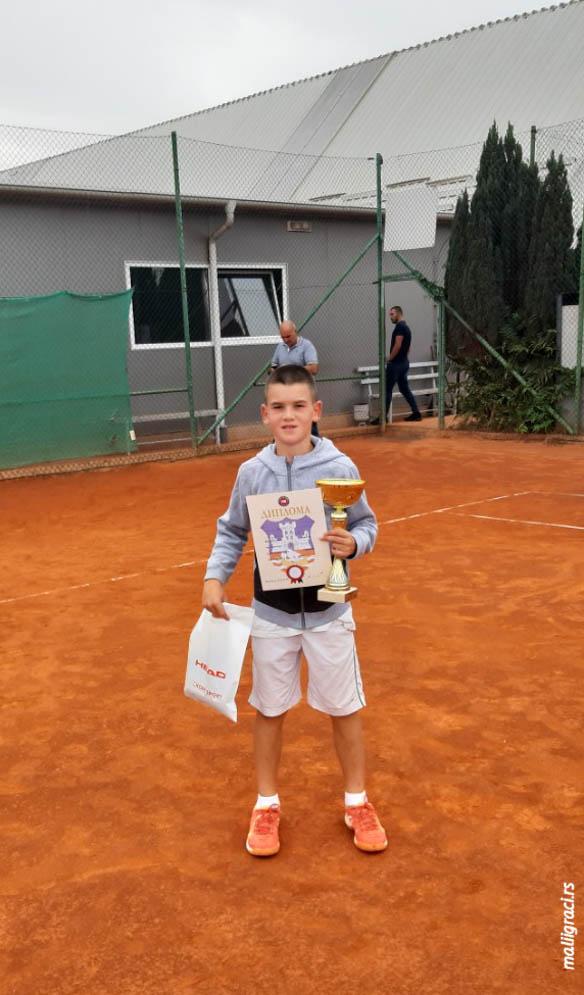 Marko Šavija, Otvoreno prvenstvo Beograda za dečake do 12 godina, Teniski klub Agrimes Beograd