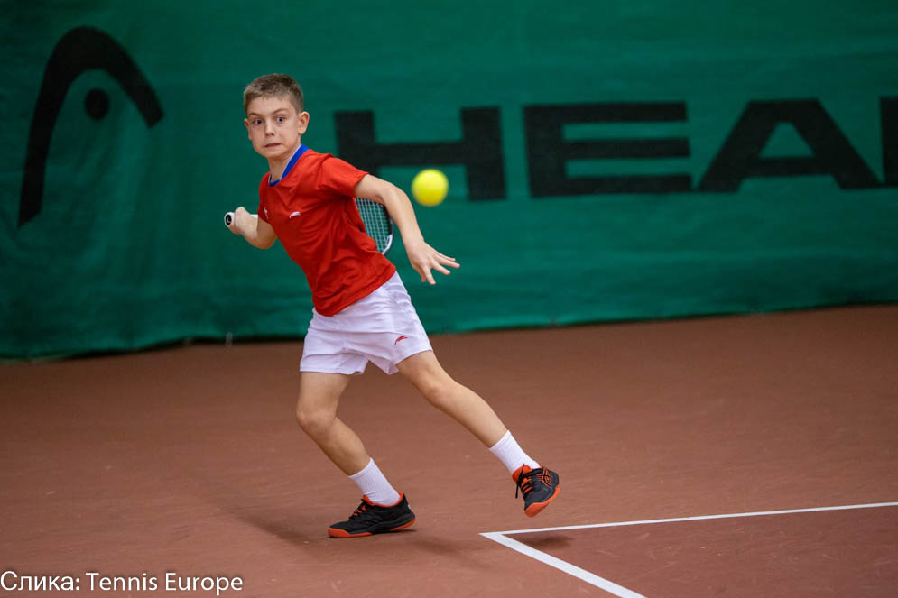Mihailo Topić, Tennis Europe Winter Cups, reprezentacija Srbije do 12 godina