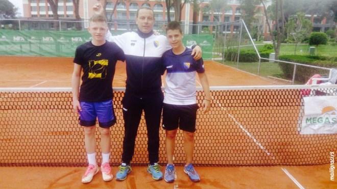 Marko Maksimović, Fatih Šišić, Ismar Salčinović, Bosna i Hercegovina, ITF Tennis Europe U14 Development Championships, ITF Tennis Europe razvojni turnir U14