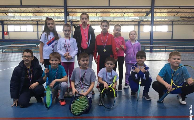 Otvoreno prvenstvo Sivca do 10 godina narandžasti nivo, Teniski klub Sivac