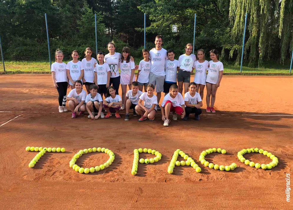 Nikola Obradović, Teniski klub Topako Beograd, Teniski klub Topaco Beograd