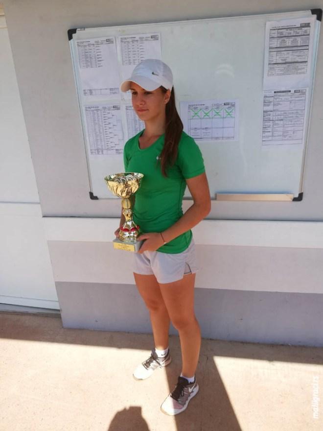 Natalija Senić, TSS TOUR TK Sajmište do 18 godina, Teniski klub Sajmište Novi Sad, Teniski savez Srbije