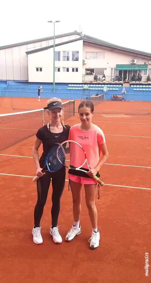 Sofija Krstić, Klara Vaja, TSS Tour TK Đukić Beograd do 16 godina, Teniski klub Đukić Beograd, Teniski savez Srbije