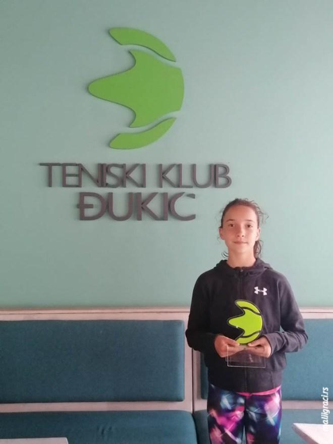 Anastasija Čolović, Otvoreno prvenstvo Beograda do 12 godina, Teniski klub Đukić Beograd