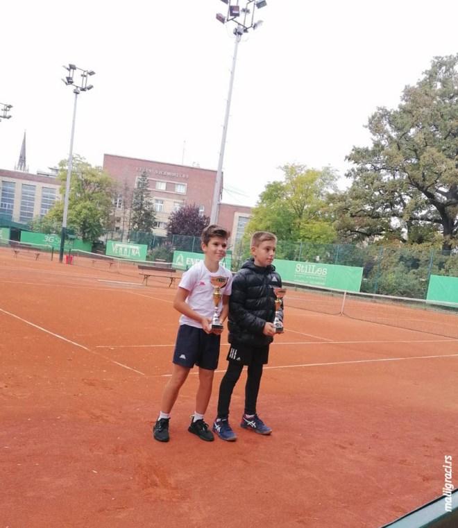 Andrej Marković, Mihailo Topić, Masters Teniskog saveza Srbije do 12 godina, Teniski savez Srbije, Teniski klub Vojvodina Novi Sad