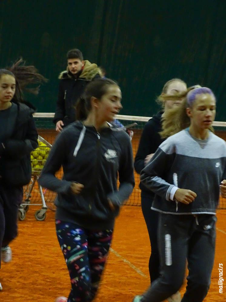 Tina Miletić, Andrea Pratljačić, Teniski klub Premium Beograd, TK Premium Beograd, Premium tenis Beograd