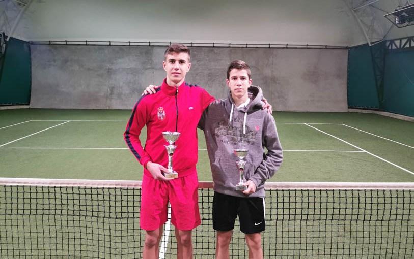 Lazar Dimitrijević, Marko Nikolić, Otvoreno prvenstvo Čačka za mladiće do 18 godina, Teniski klub Tennis Point Čačak