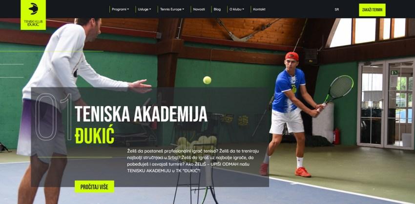 ТК Ђукић улази у 2021. годину са новим сајтом