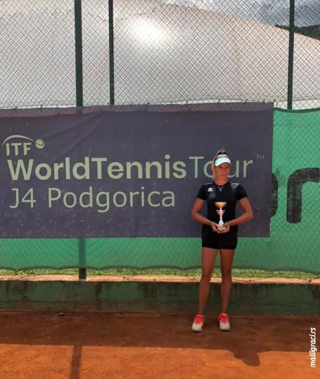 Andrea Obradović, ITF J4 PODGORICA OPEN 2021, TK Eminent Podgorica Crna Gora