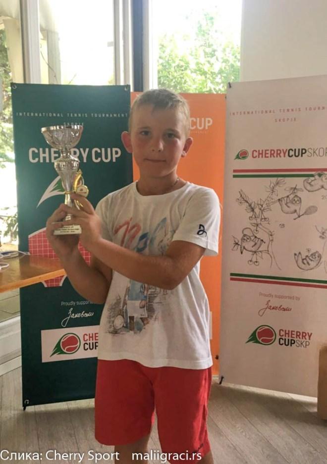 Aleksej Stojanovski, Zeleni nivo, Cherry Cup Skopje 2021, međunarodni dečji turnir u Skoplju Cherry Cup Severna Makedonija, Cherry Sport, ATK Premium Klub Skopje