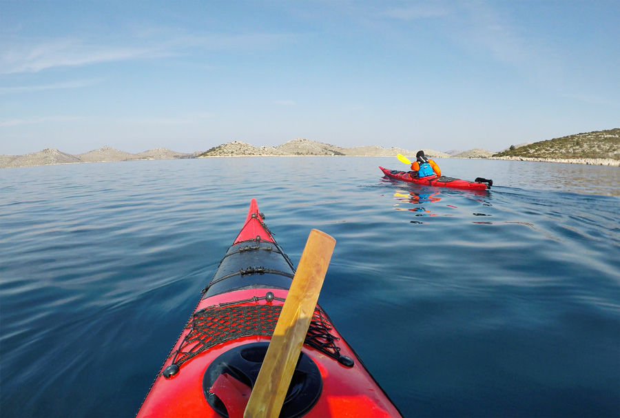 kayaking kornati croatia