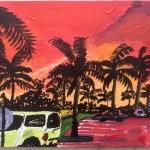Sunset on a Florida Parking Lot
