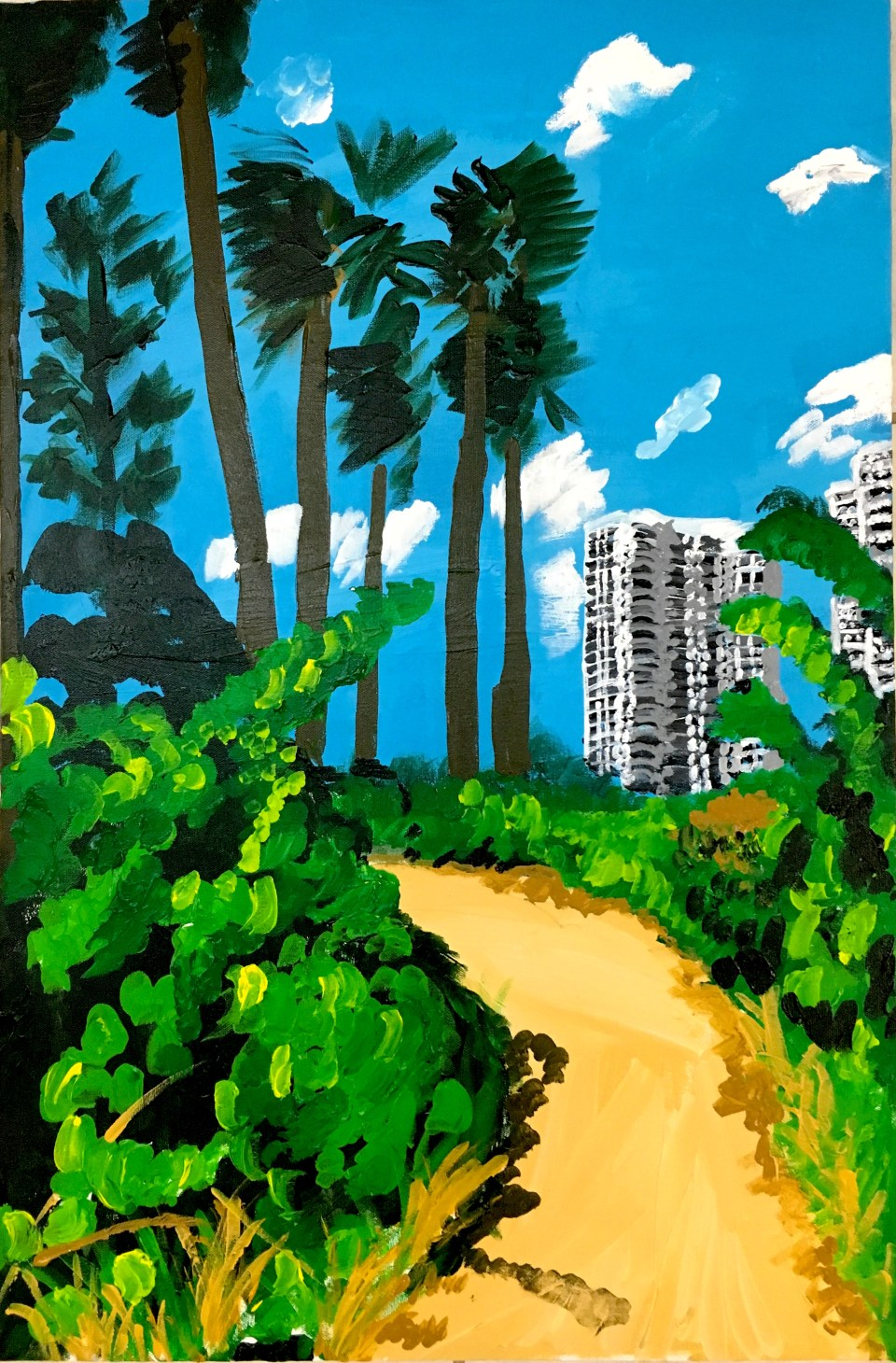 walktothebeach_malindaknowles_painting