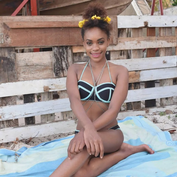rocking a bikini while in malindi kenya super composed