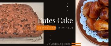 Dates Cake  – Recipes za watu wa Malindi