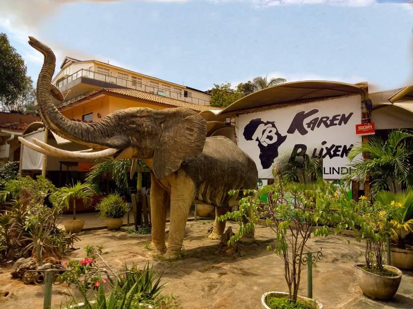 karen blixen malindi - galana shopping centre places