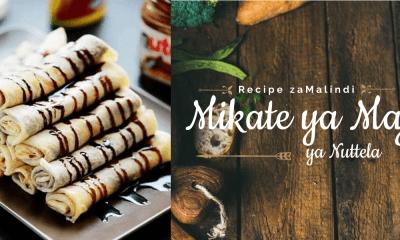 Mikate Ya Maji Ilojazwa Nuttela - Malindi Recipes