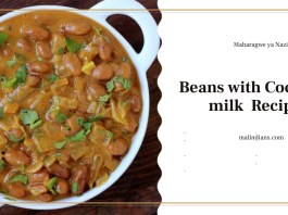 maharagwe ya nazi beans with coconut milk recipe - Welcome to the tourist and information Center  of Malindi Kenya