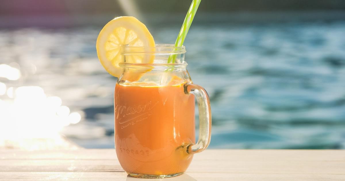 Carrot Ginger Apple Juice