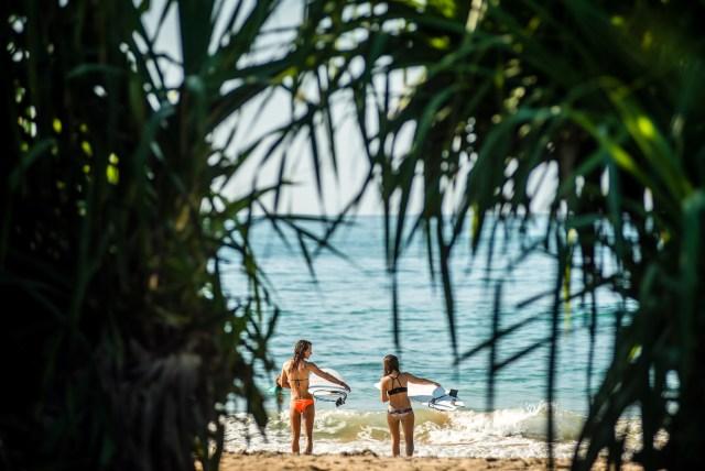Sri Lanka Lapoint Surfcamp - Surfspot