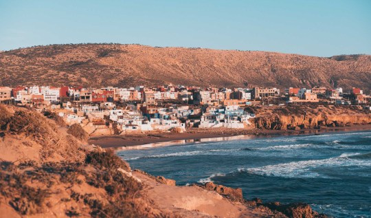 Imsouane, Morocoo Landscape Cathedral Bay